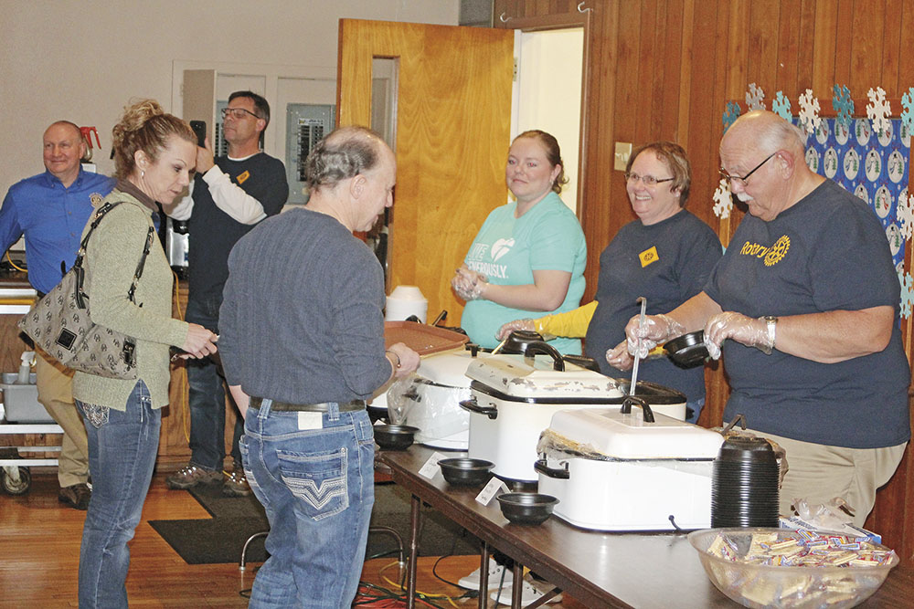 Rotary Club annual soup supper will be Saturday