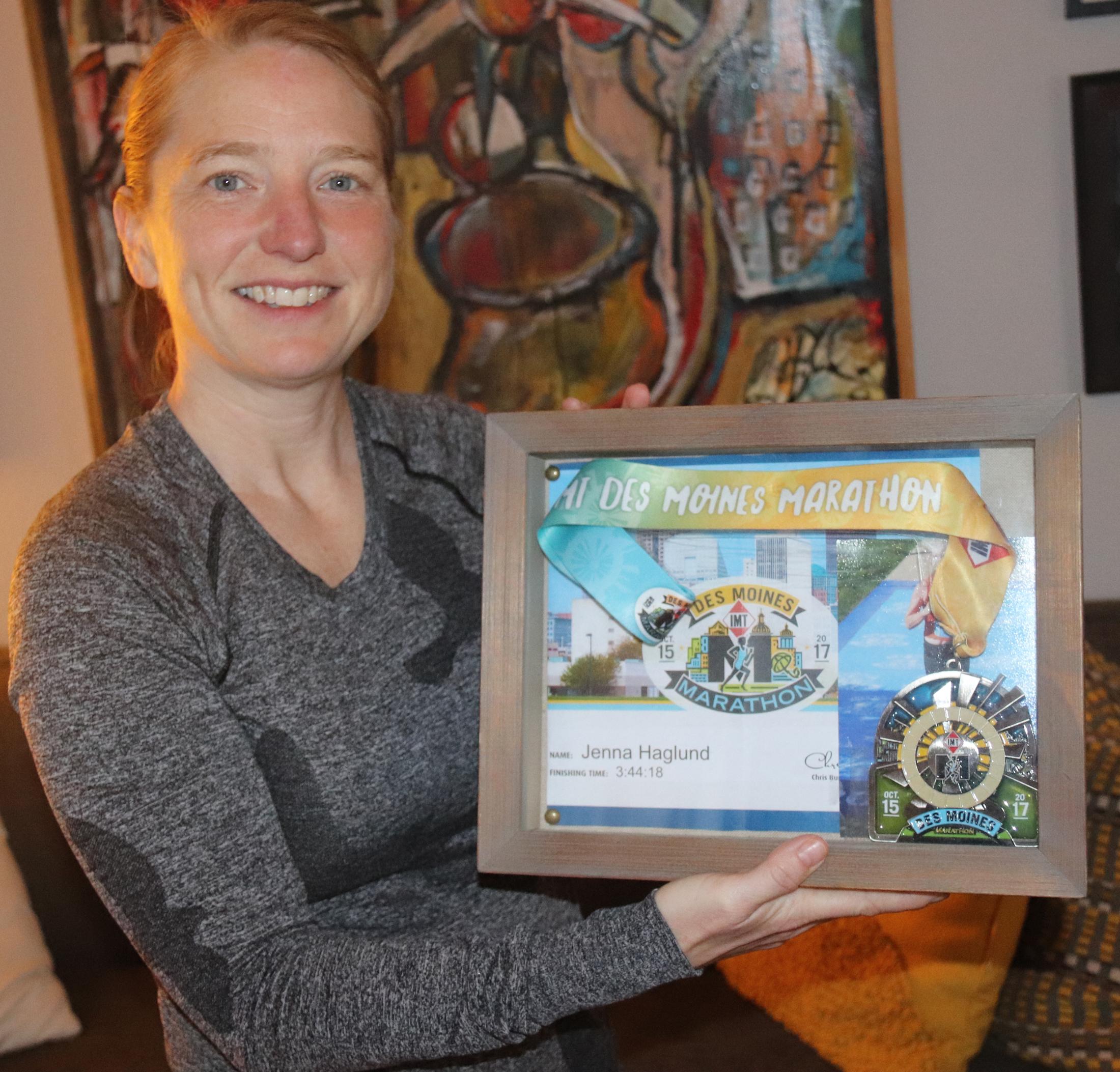 Jenna Haglund to run in Boston Marathon
