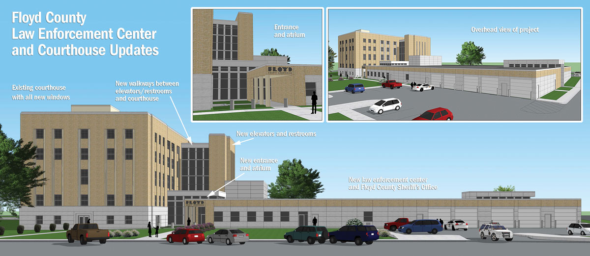 Foundation work begins on law enforcement center project