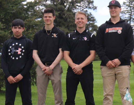 Comets place 3rd at NEIC Boys Golf Meet