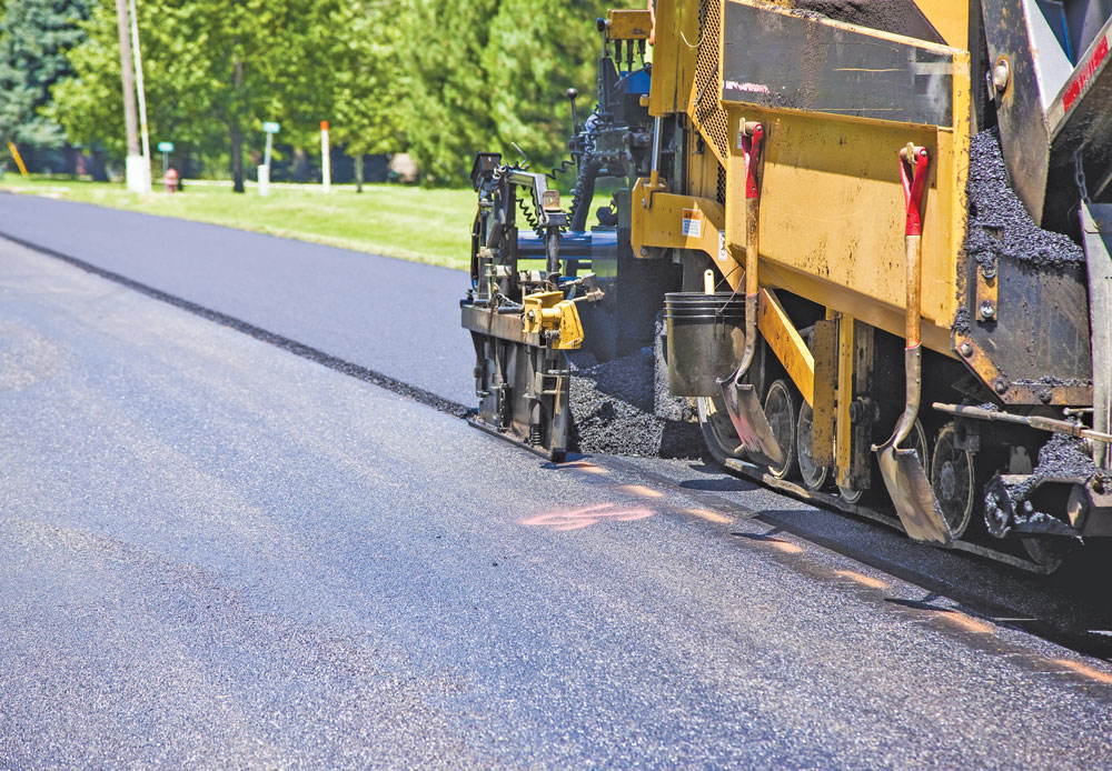 Construction work has begun on the 2020 Charles City paving project