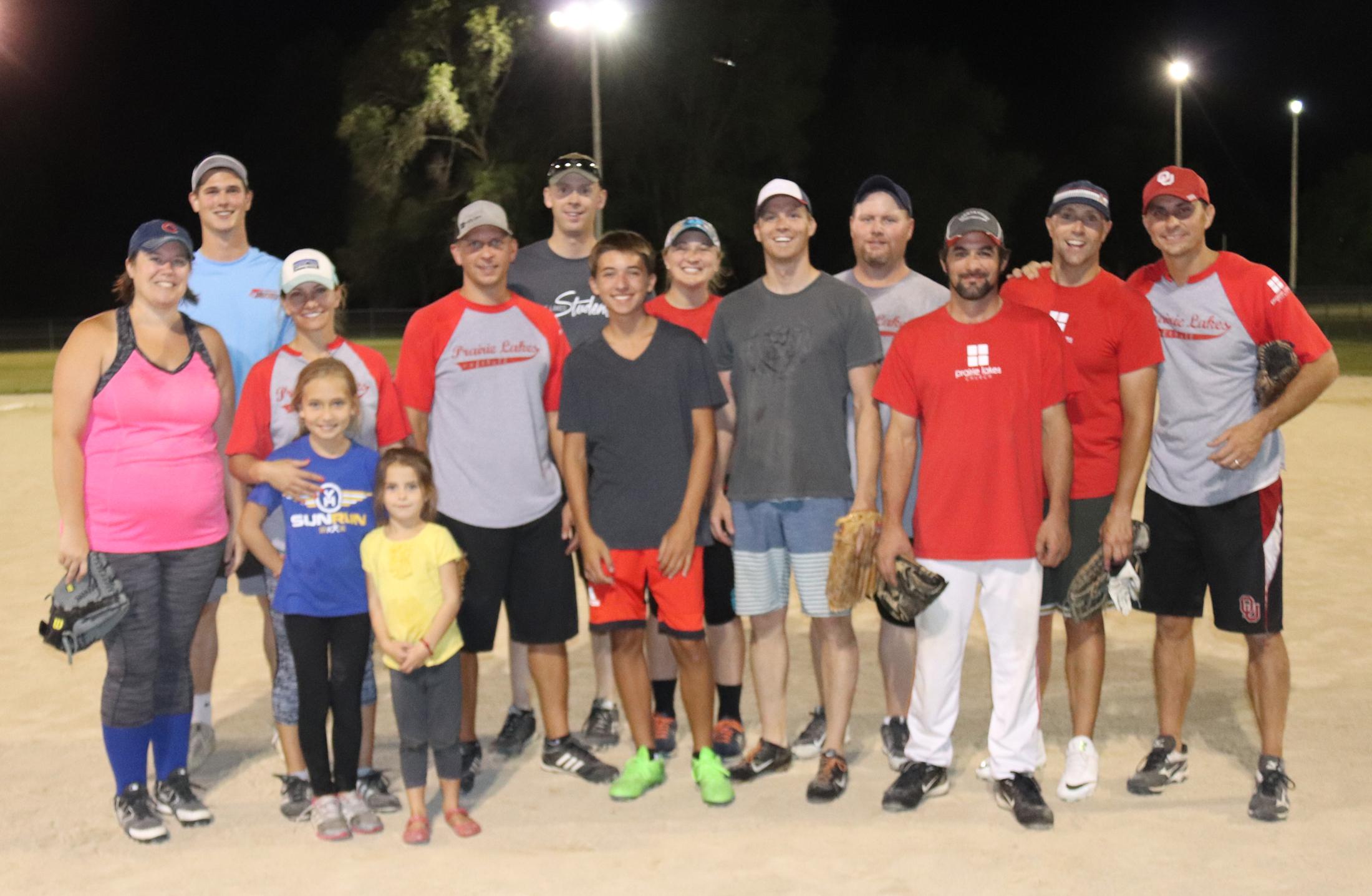 Prairie Lakes NH wins CC Church Softball League championship