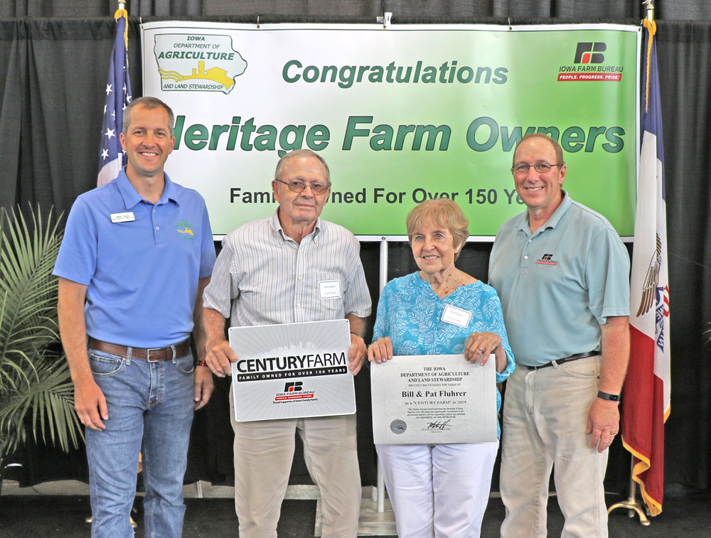 Area farms receive Century Farm and Heritage Farm honors at State Fair
