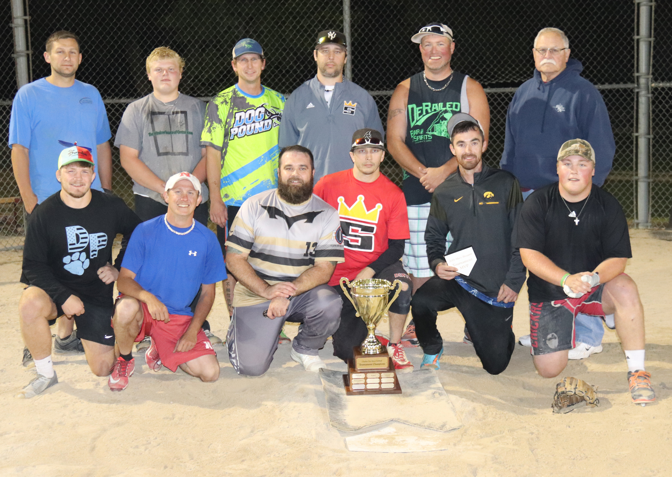 Busch Leaguers 'DeRailed' in trying to repeat as CC Men's Softball League champs