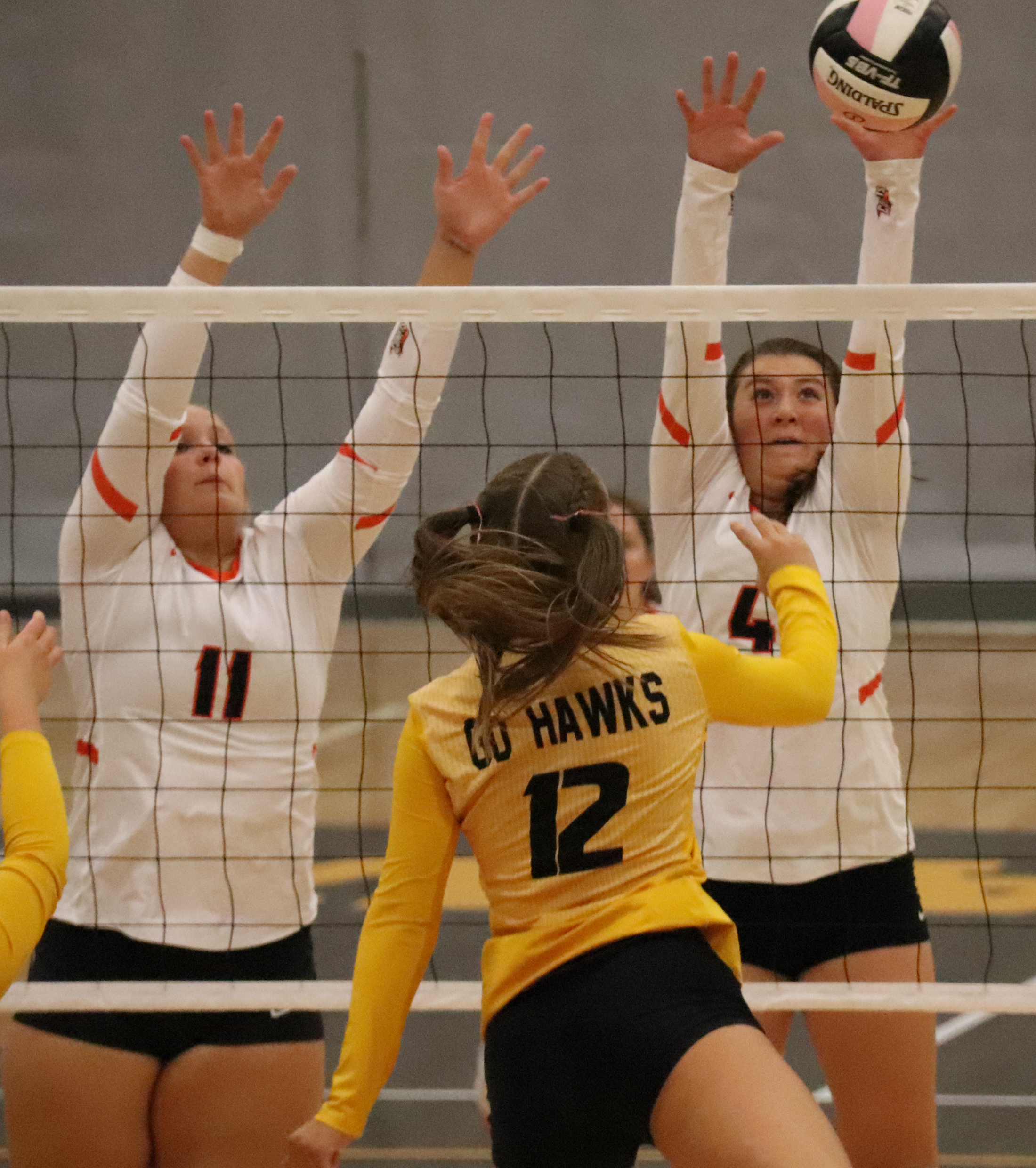 Comets fall in Go-Hawks in straight sets