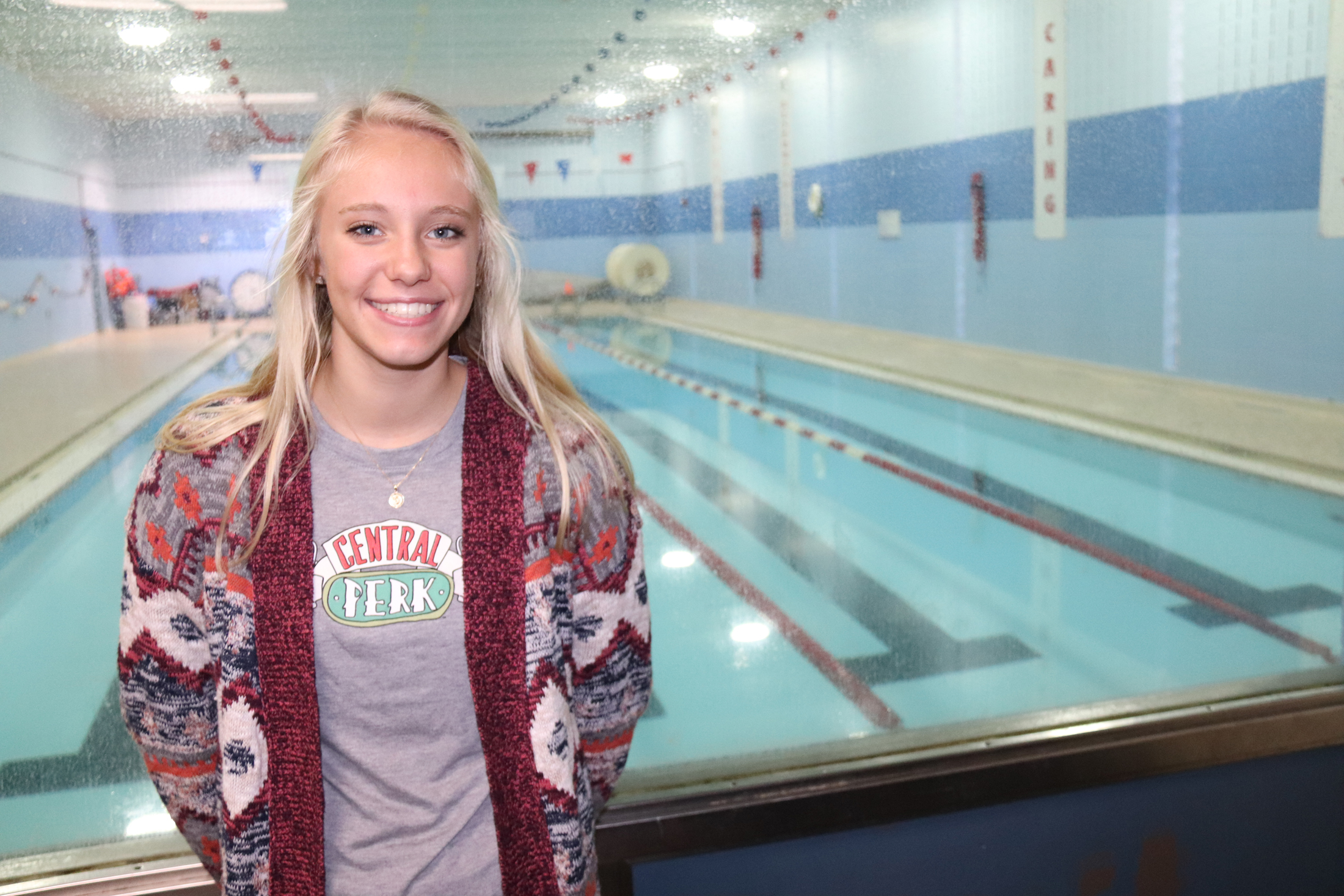 Charles City's Nia Litterer qualifies in 4 state meet events while swimming for Mason City