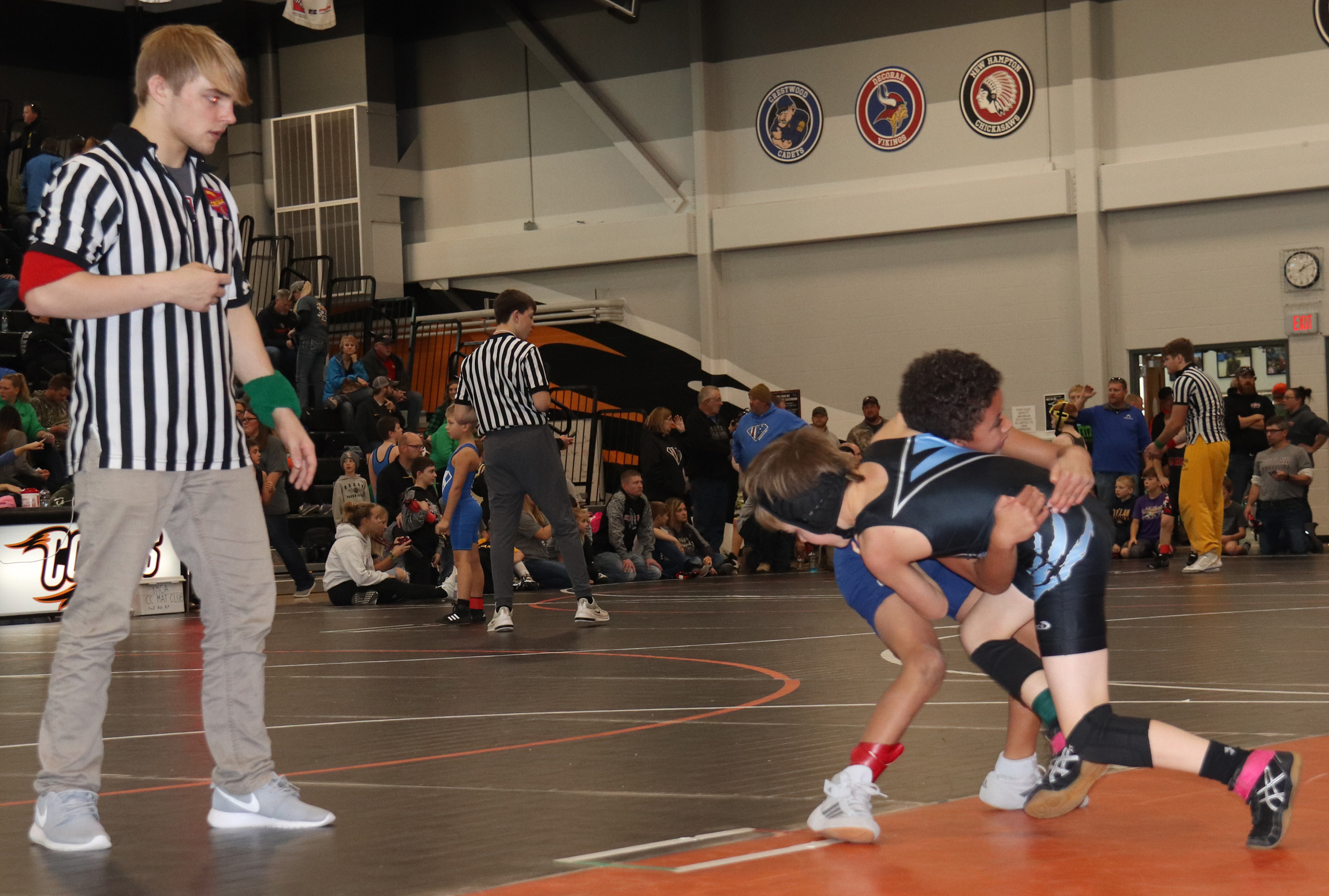 Logan Luft Memorial Tournament attracts more than 300 wrestlers