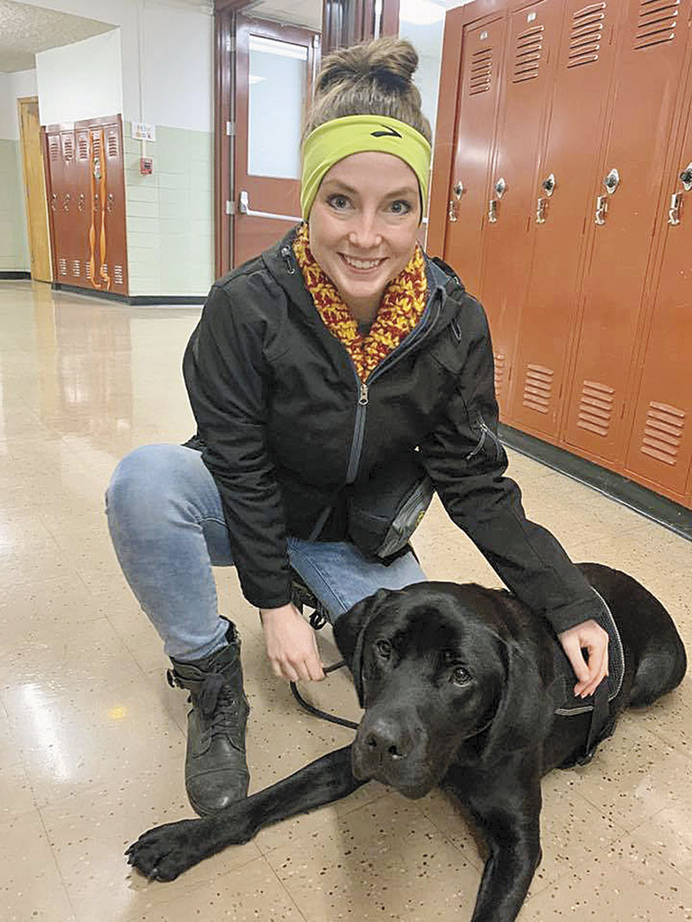 Everybody Loves Raymond: Service dog learns along with students at CCHS