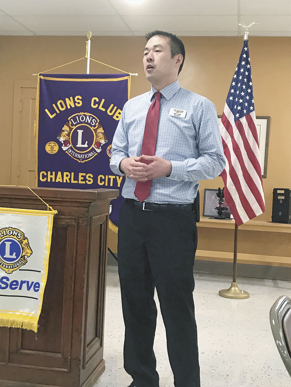Charles City School Superintendent Fisher talks about test scores, building improvements