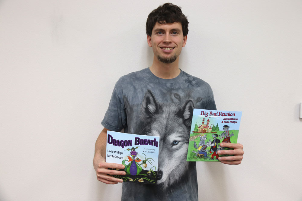 Charles City author publishes second children's book with a little help from his friend