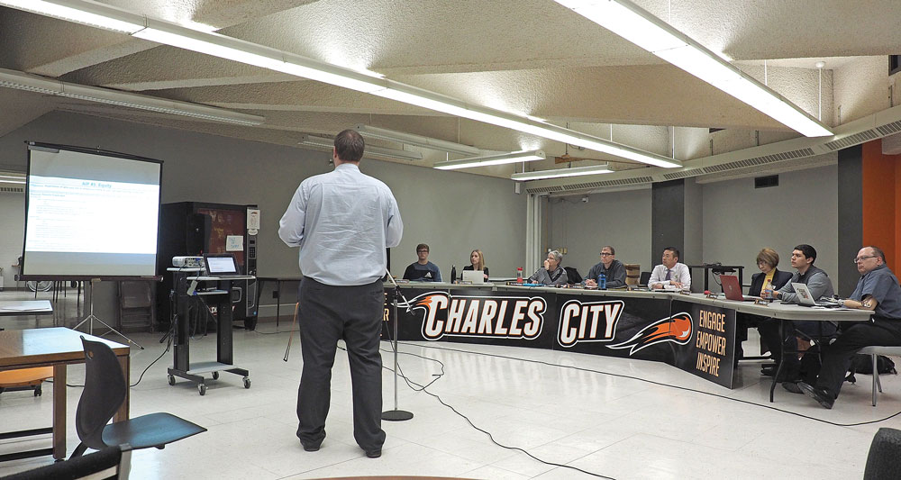 Charles City school lunch survey shows favorable response