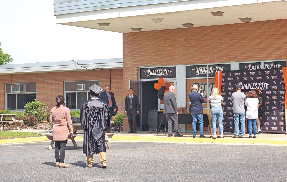 Charles City High School plans commencement ceremony Sunday
