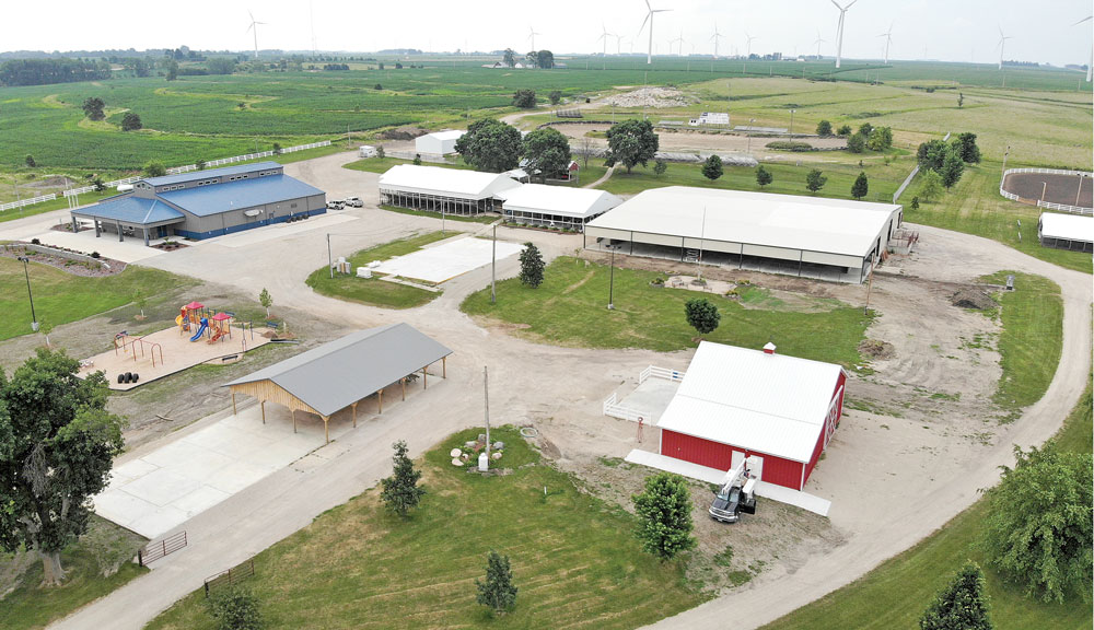Floyd County Fair is next week, but the public isn't invited