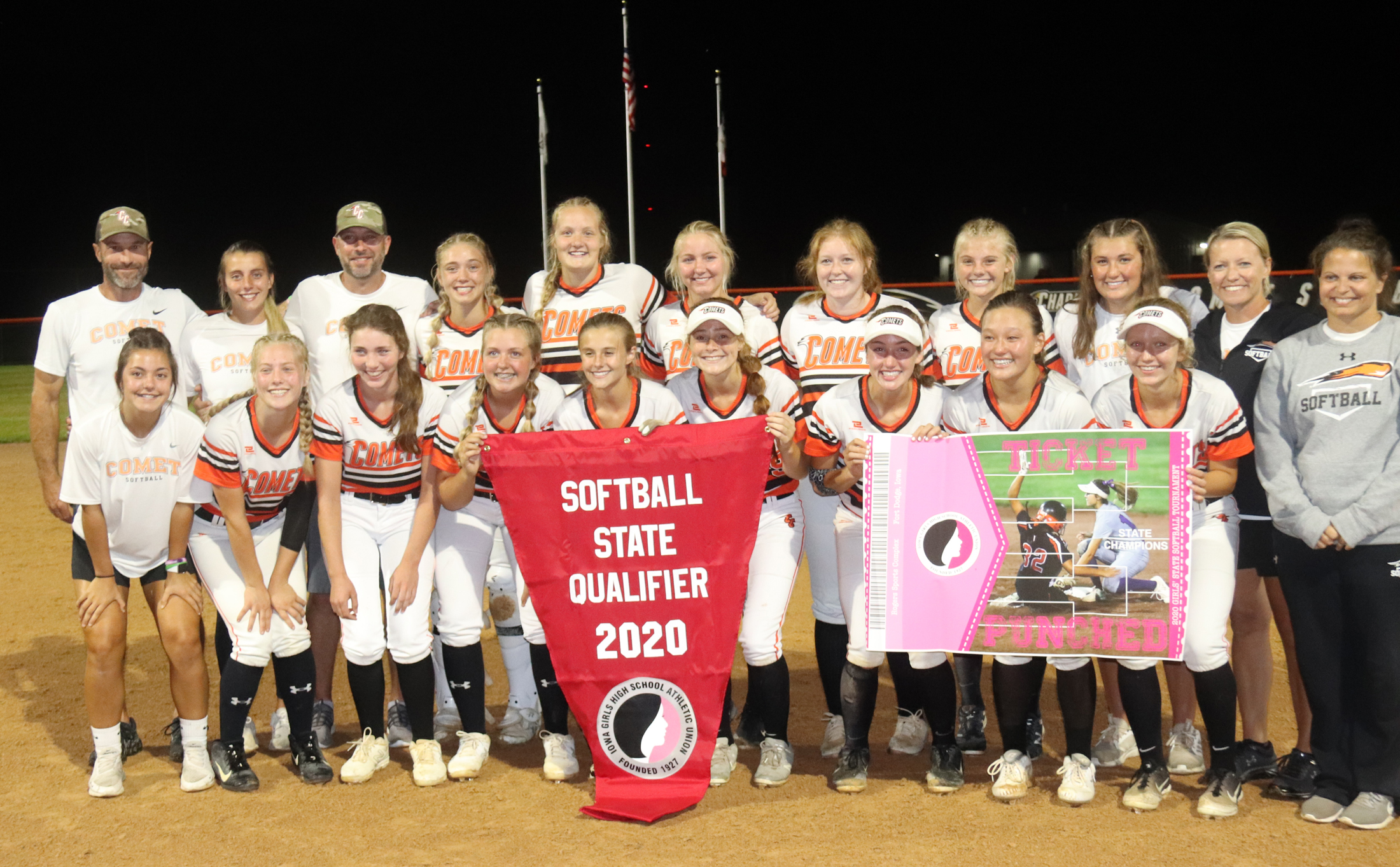 Comets defeat Mohawks 10-6 for regional title, advance to state for 5th-straight year